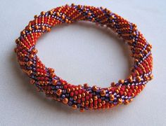 Bead Crochet Pattern:  Simple Spiral and Reverse Spiral via Etsy