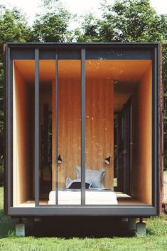 Must See Shipping Container Homes - House Topics Nowadays shipping container homes are getting a lot of buzz this is mainly because of few reasons: Time saving You don't need to wait half a year or even … Shipping Container Interior, Shipping Container Sheds, Cargo Container Homes, Building A Container Home, Container House Design, Shipping Containers, Cabin Plans, House Plans, Container Architecture