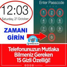Telefonunuzun Mutlaka Bilmeniz Gereken 15 Gizli Özelliği! #telefon #iphone #android #teknoloji