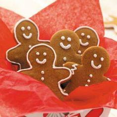Gingerbread Men Cookies Recipe from Taste of Home