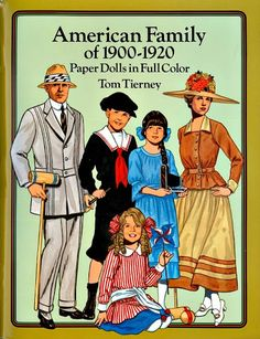 American Family of 1900-1920 paper dolls - Onofer-Köteles Zsuzsánna - Picasa Web Albums