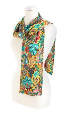 Knit Scarf in Provencal, $46 | Vera Bradley