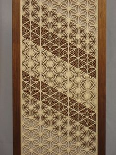 Detail of the different patterns — Asa-no-ha (麻の葉); Kawari-asa-no-ha (変り麻の葉); Kawari-yae-zakura (変り八重桜); and Yae-asa-no-ha (八重麻の葉).
