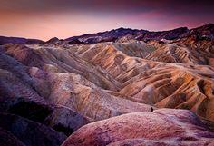 Zabriskie Point - Death Valley - California - (june 93 & june 94)