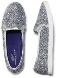 2016 Avon's Memory Foam Sparkle Slip On Sneaker:  This is something I would buy if I needed new comfortable shoes. It's sparkly and comfy with Memory Foam and elastic for easy on/off. Step up your wardrobe a notch and add these glitzy must-have kicks to your collection this spring.