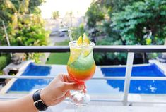 Enjoy #HappyHour with us at #TheTAOBeachHouse everyday at 4 p.m. to 8 p.m.! No better way to spend an afternoon in paradise 🍸🍹   #TheCamakilaLegianBali #camakilabali #camakila #legian #bali