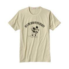 MEN DISNEY PROJ Graphic Short Sleeve T Shirt L