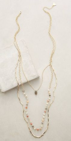 Marquis Layered Necklace