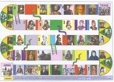 Τα πρωτάκια 1: Επιτραπέζια για την Επανάσταση του 1821(Με τους ήρωες του '21-Το πνεύμα του '21) Bee, Photo Wall, Activities, Education, History, Frame, Animals, Maths, Languages