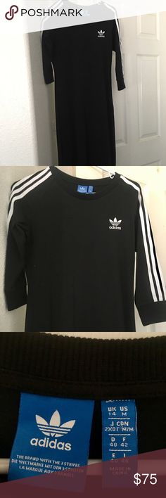 Adidas Fitted Dress New without tags adidas fitted dress, women's M. adidas Dresses Midi