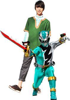 Power Rangers Comic, Power Rangers Dino, Go Busters, Pawer Rangers, Japanese Superheroes, Green Ranger, Cute Japanese, Drawing Poses, Kamen Rider