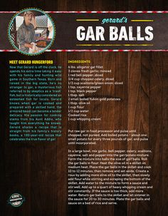National Geographic Channel - Eric Greenspan is Hungry - Gerard Hungerford's Texas Alligator Gar Balls