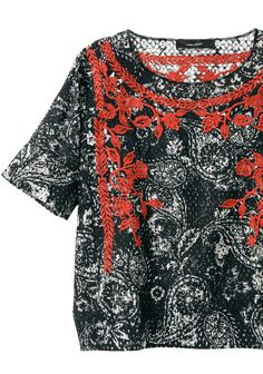 Isabel Marant / Napoli Embroidered Top