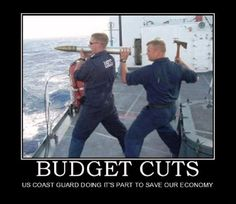 Budget Cuts....oh my!  Lol