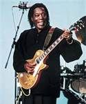 """A key influence on Clapton,  Hendrix & SRVaughan, Buddy Guy put the Louisiana hurricane in 60s electric Chicago blues as member of Muddy Waters'. He combined blazing modernism w/fierce grip on his roots, playing frantic leads heavy w/swampy funk on Howlin' Wolf's """"Killing Floor"""" and Koko Taylor's """"Wang Dang Doodle"""". Guy still plays with his original fire. ---- love love Buddy Guy!!!"""