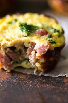 Food Faith Fitness_Egg Muffins With Ham, Kale, and Cauliflower Rice.jpg