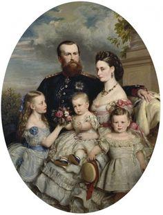Alice Maud, Friedrich Wilhelm Ludwig, Victoria Alberta, Ernst Ludwig and Friedrich Wilhelm August