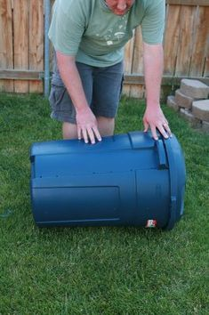 Backyard Farming Waste Not Want Not Making a compost container for less than 20 Compost Container, Container Gardening, Outdoor Projects, Garden Projects, Garden Ideas, Garden Tips, Diy Projects, Farm Gardens, Outdoor Gardens