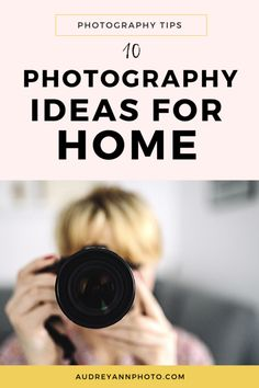 10 photography ideas at home to help you learn new skills, practice the ones you have and take creative photos - even if you can't leave the house! Macro Photography Tips, Photography Ideas At Home, Self Portrait Photography, Photography Challenge, Photography Tips For Beginners, Photography Projects, Photography Business, Photography Tutorials, Love Photography