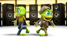 The Crazy Frogs - The Ding Dong Song - New Full Length HD Video, via YouTube.