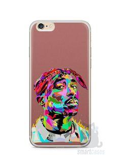 Capa Iphone 6/S Plus Tupac Shakur #4 - SmartCases - Acessórios para celulares e tablets :) Tupac Shakur, Capa Iphone 6s Plus, Capas Iphone 6, 6 S Plus, Phone Cases, Tablets, Phone Case