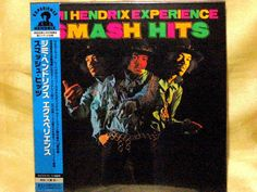 CD/Japan- JIMI HENDRIX EXPERIENCE Smash Hits w/OBI RARE mini-LP LIMITED UICY-823