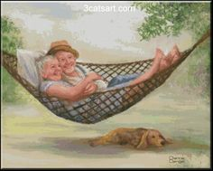 illustration de dianne dengel - Page 3 Vieux Couples, Old Couples, Cute Pictures, Beautiful Pictures, Art Postal, Grow Old With Me, Growing Old Together, Old Folks, Illustration Art