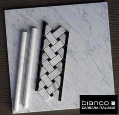 Posts about carrara tile written by thebuilderdepot Marble Tiles, Carrara Marble, Italian Marble, Basket Weaving, Master Bath, Mosaic, Bathroom, Bath Ideas, Blog