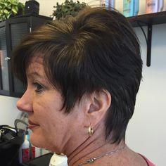 Moms sassy new cut! #ShortHair #Sassyhair #Hairstylist #BTCpics #BeautifulHair #LexingtonKY #ShareTheLex #BBN #Kentucky #JessCoilHair