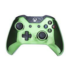 Chrome Green Edition | Custom Controllers UK