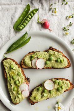 Houmous de petits-pois | healthy recipe ideas @xhealthyrecipex |
