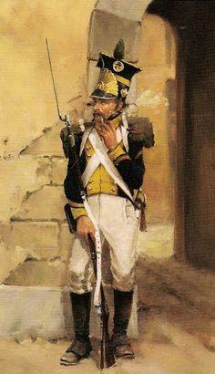 наполеон и революция: Вислинский Легион (Legion de la Vistule).