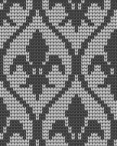 Подбор цветовой гаммы для вязания жаккардового узора Fair Isle Knitting Patterns, Fair Isle Pattern, Knitting Charts, Knitting Stitches, Knitting Designs, Graph Design, Chart Design, Norwegian Knitting, Hand Embroidery Stitches