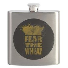 fearTheWheatCircle Flask for