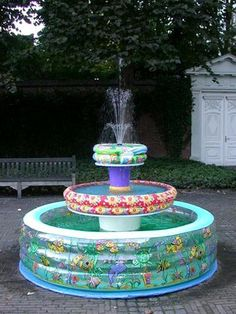 rubber pools fountain