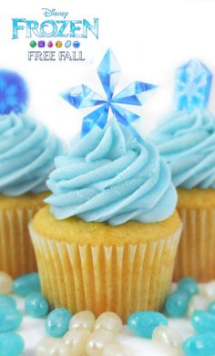 Delicious gem cupcakes inspired by Frozen  http://di.sn/h01o