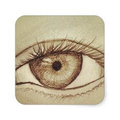 Eye Sketch Stickers