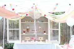 sprinkled with love birthday party | kojodesigns