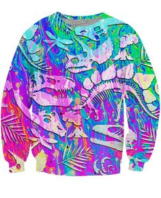 RageOn Lets Rage Taquitos Crewneck Premium All Over Print Sweatshirt