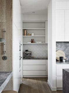 Modern Home Decor 11 Trends to Try in Your Next Kitchen Renovation.Modern Home Decor 11 Trends to Try in Your Next Kitchen Renovation Kitchen Pantry Design, Best Kitchen Designs, Open Plan Kitchen, Kitchen Interior, New Kitchen, Kitchen Storage, Pantry Interior, Kitchen Ideas, Kitchen Grey