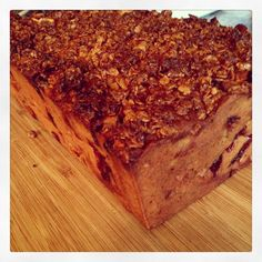 Apple, Strawberry and Blueberry Loaf Recipe