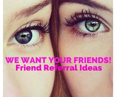 Our latest blog post >> We Want Your Friends Friend Referral Ideas  Everyone loves Friend Referrals, we believe they are one of the best tools to attract new clients to your hair or beauty salon. #friendreferrals