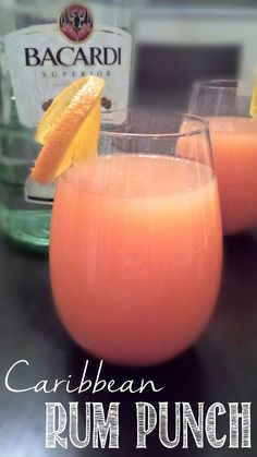 #ThurstyThursday: Rum Punch - Take a trip to the islands with this refreshing Rum Punch. Tastes like I'm laying on the beach!! #rumpunch #caribbean                                                                                                                                                     More