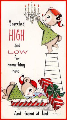 #Christmas #vintage #greeting