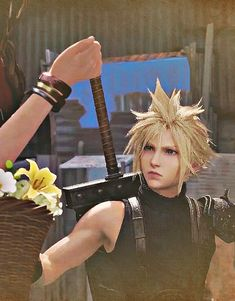 Final Fantasy Characters, Final Fantasy Vii, Fictional Characters, Sora Kingdom Hearts, Promised Land, Cloud Strife, Videogames, Hot Guys, Clouds