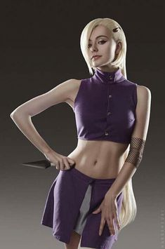 Cosplay-ino from naruto shippuden