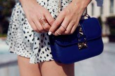Valentino blue bag <3