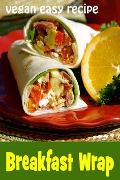 cool Breakfast Wrap