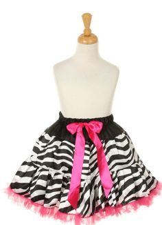 $29.99 Hot pink and black zebra striped tutu!  Find here for her next pageant!  http://stores.ebay.com/The-Stylish-Boutique/_i.html?rt=nc&_nkw=tutu&_sid=544253133&_sticky=1&_trksid=p4634.c0.m14&_sop=1&_sc=1