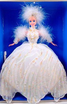 Snow Princess Barbie - NIB -1994